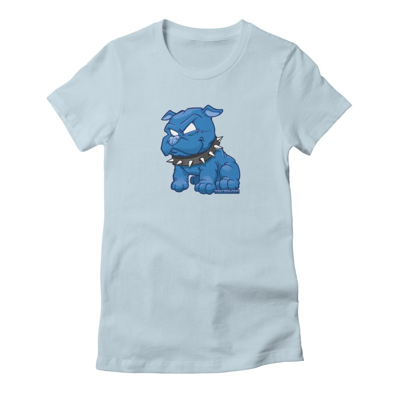 Danger Dog by Willie Beren Women's T-Shirt by Tenacious Toys Apparel Collection