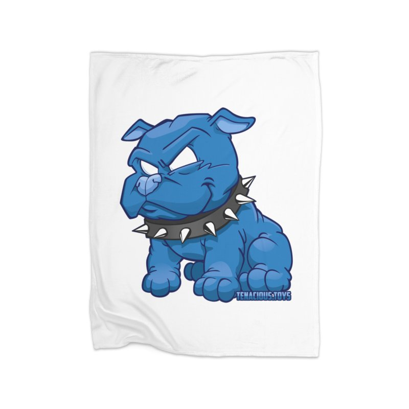 Danger Dog by Willie Beren Home Blanket by Tenacious Toys Apparel Collection