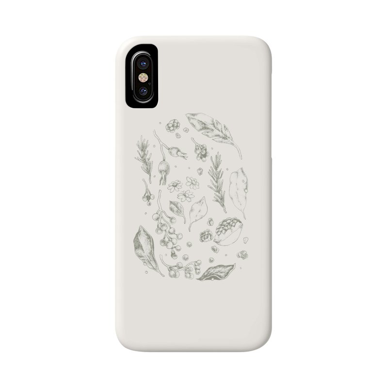 Apothecary Accessories Phone Case by Tenderheart Studio