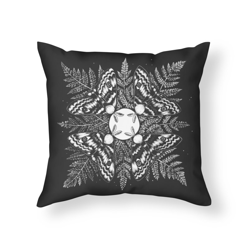 To the Flame Home Throw Pillow by Tenderheart Studio