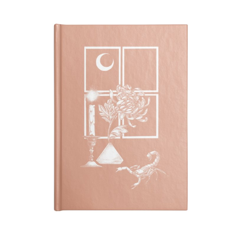 Scorpio Season Accessories Notebook by Tenderheart Studio