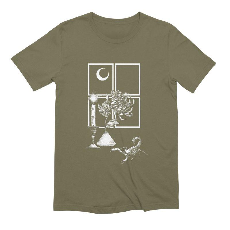 Scorpio Season Men's Extra Soft T-Shirt by Tenderheart Studio