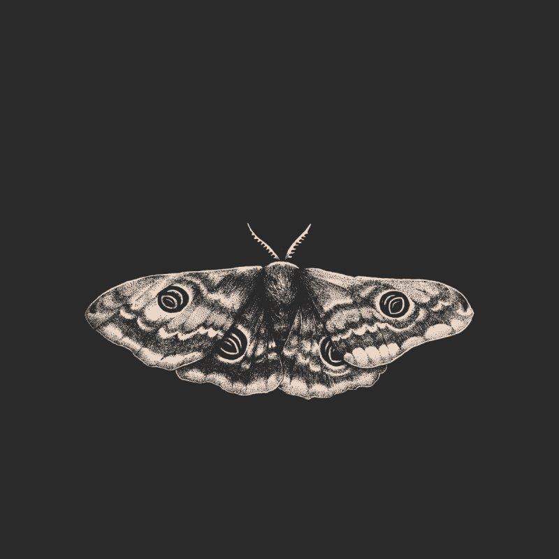 Emperor Moth Accessories Zip Pouch by Tenderheart Studio