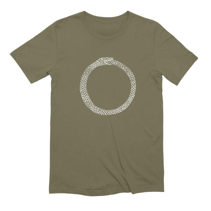 Ouroboros Men's Extra Soft T-Shirt by Tenderheart Studio