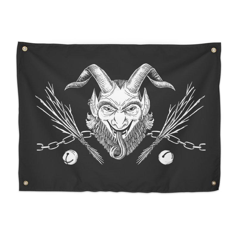 Krampus Home Tapestry by Tenderheart Studio