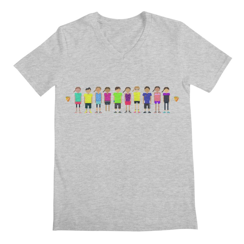 tennis squad Men's V-Neck by tennis's Artist Shop
