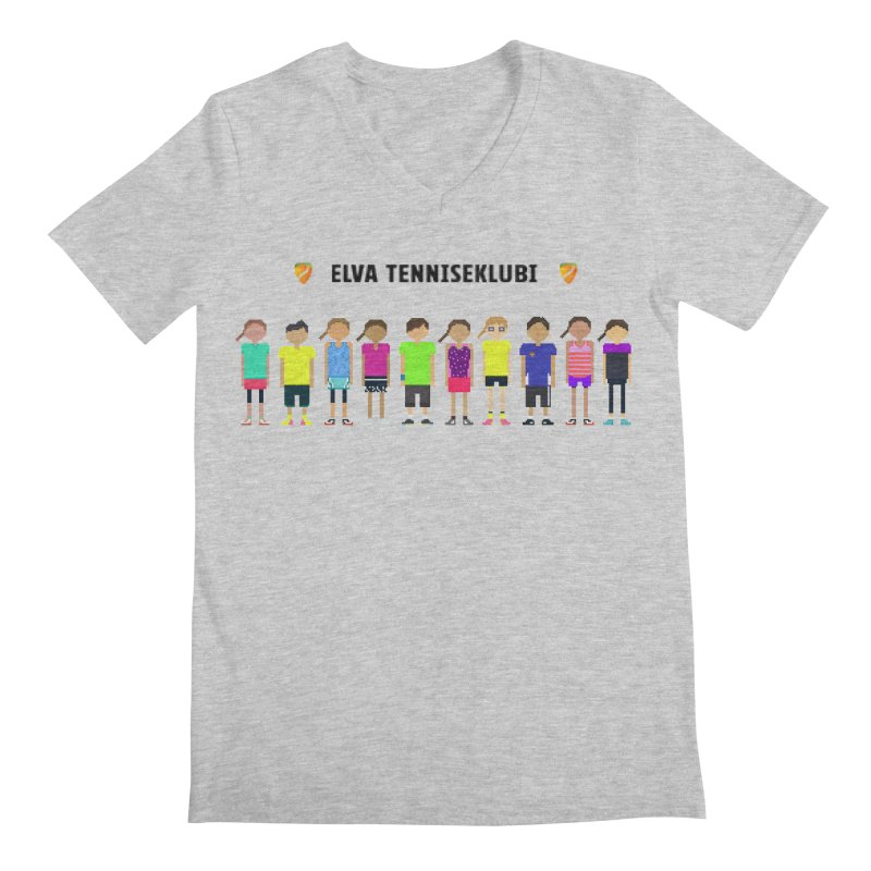 tennis team Men's V-Neck by tennis's Artist Shop