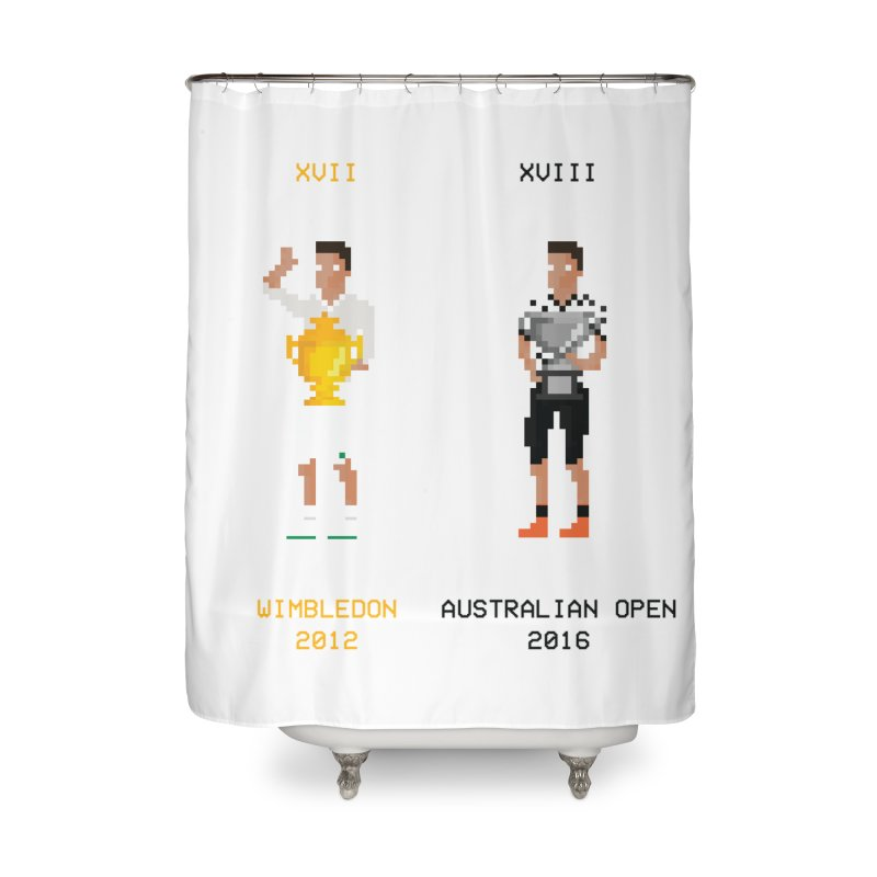 peRFect Home Shower Curtain by tennis's Artist Shop