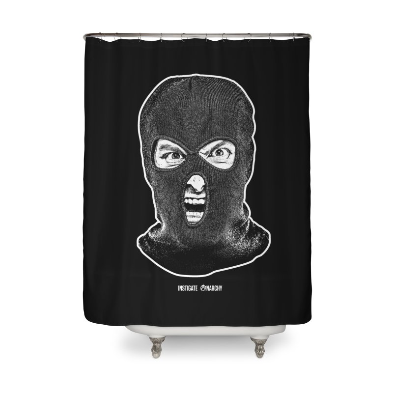 Instigate Anarchy Home Shower Curtain by Tentimeskarma