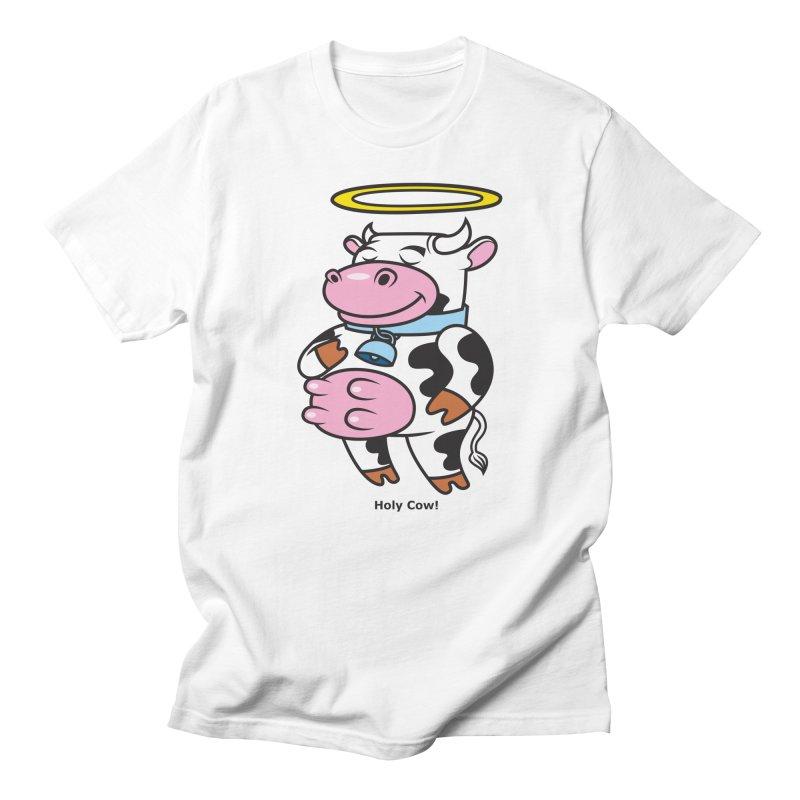 Holy Cow! Men's Regular T-Shirt by Tentimeskarma