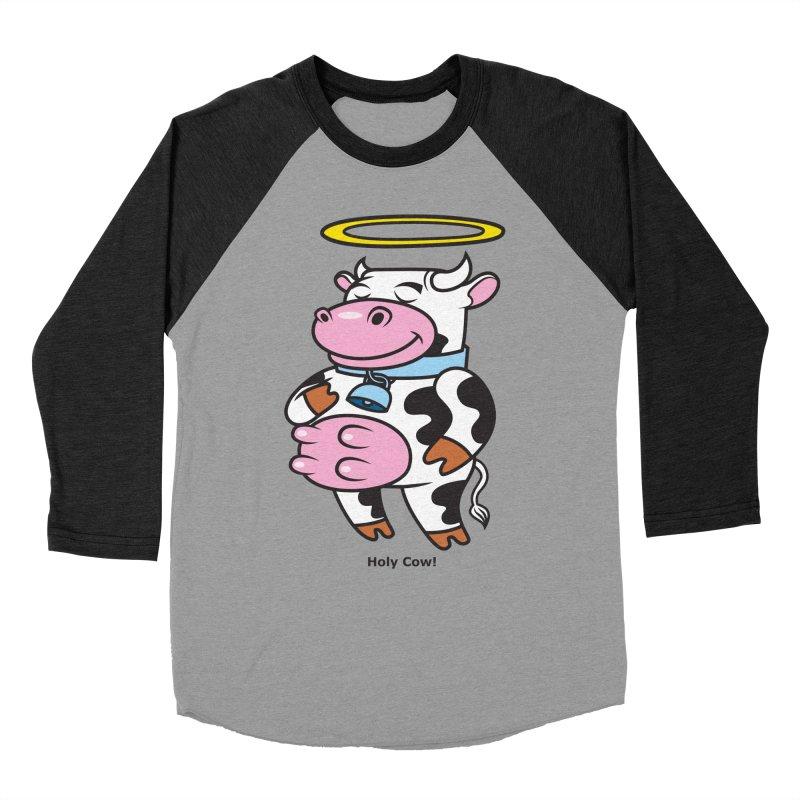 Holy Cow! Women's Baseball Triblend Longsleeve T-Shirt by Tentimeskarma