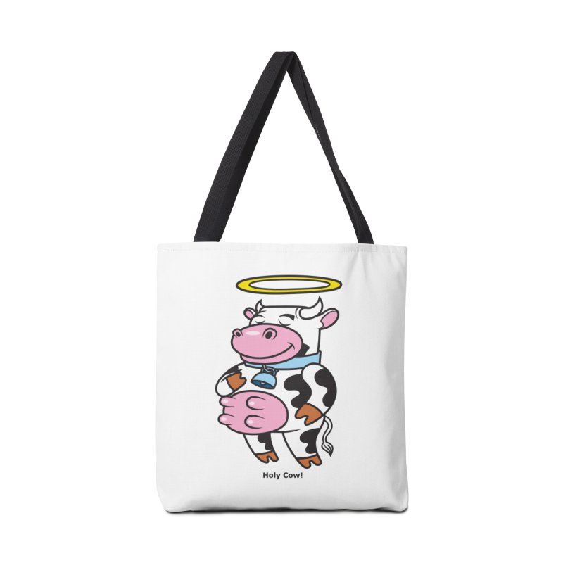 Holy Cow! Accessories Bag by Tentimeskarma