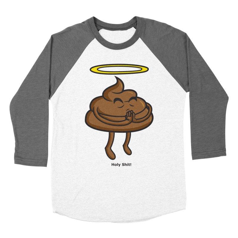 Holy Shit! Women's Baseball Triblend Longsleeve T-Shirt by Tentimeskarma