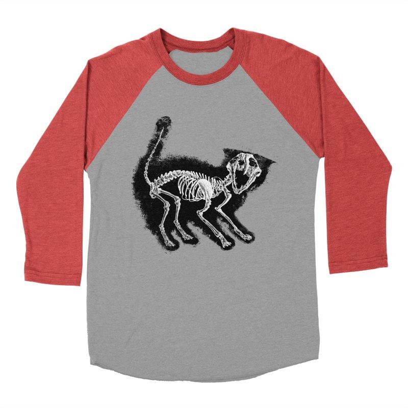 The Purrrfect Scare Women's Baseball Triblend Longsleeve T-Shirt by Tentimeskarma