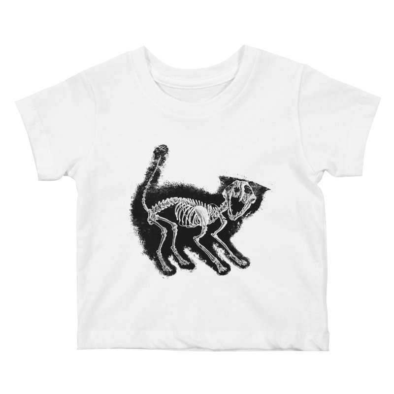 The Purrrfect Scare Kids Baby T-Shirt by Tentimeskarma