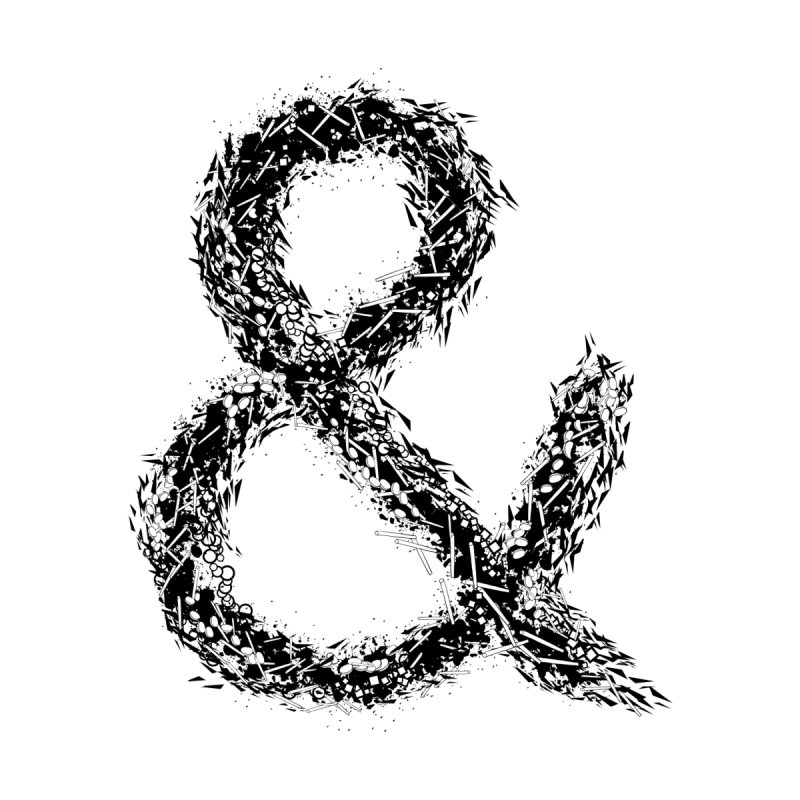 Ampersand Men's T-Shirt by Tentimeskarma