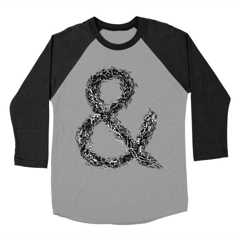 Ampersand Women's Baseball Triblend Longsleeve T-Shirt by Tentimeskarma