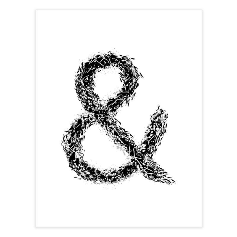 Ampersand Home Fine Art Print by Tentimeskarma