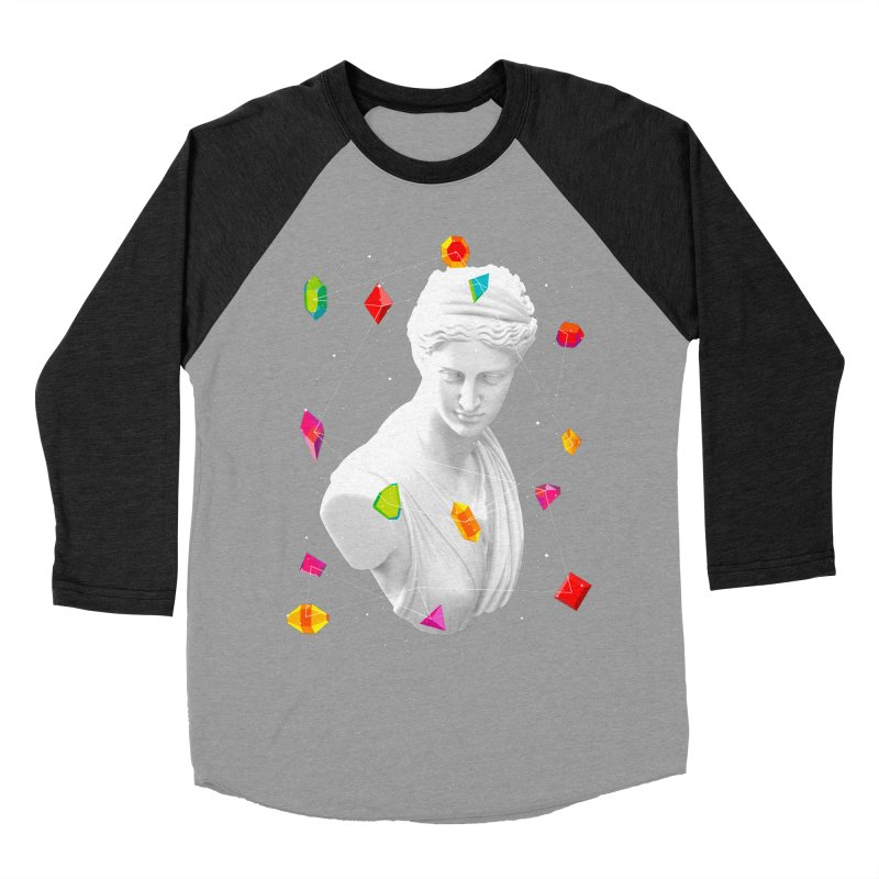 Geometric Gods Women's Baseball Triblend Longsleeve T-Shirt by Tentimeskarma