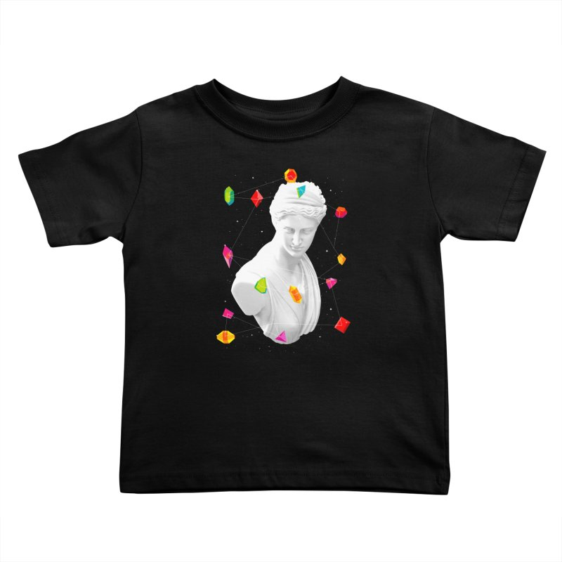 Geometric Gods Kids Toddler T-Shirt by Tentimeskarma