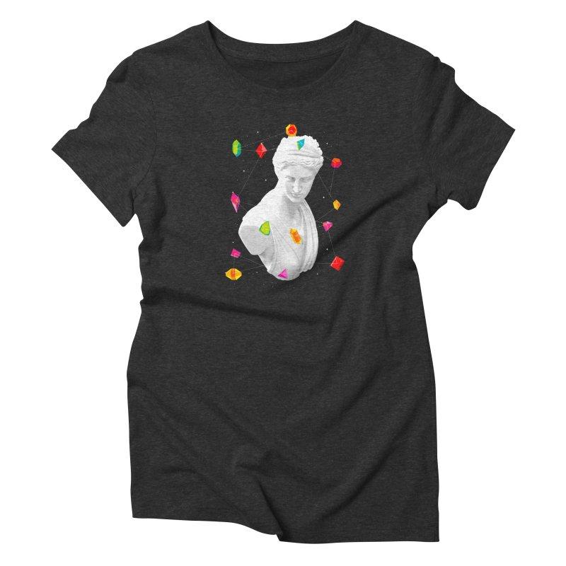 Geometric Gods Women's T-Shirt by Tentimeskarma