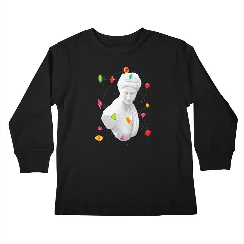 Geometric Gods Kids Longsleeve T-Shirt by Tentimeskarma