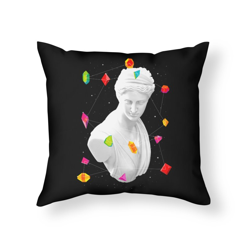 Geometric Gods Home Throw Pillow by Tentimeskarma