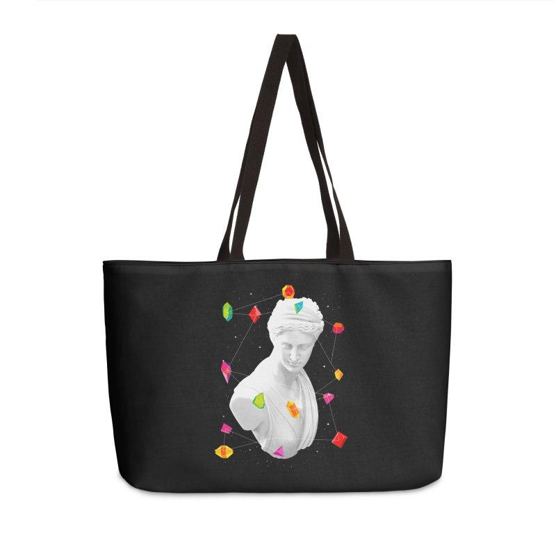 Geometric Gods Accessories Weekender Bag Bag by Tentimeskarma