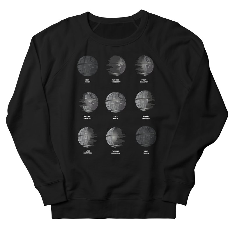 Dark Moon Phase Men's Sweatshirt by Tentimeskarma