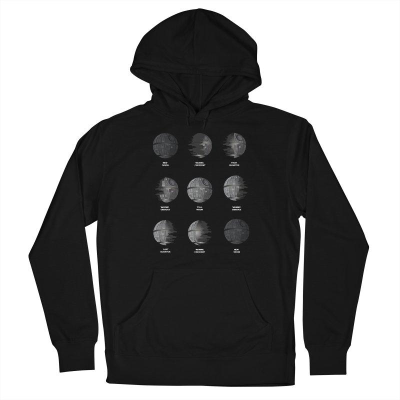 Dark Moon Phase Men's Pullover Hoody by Tentimeskarma