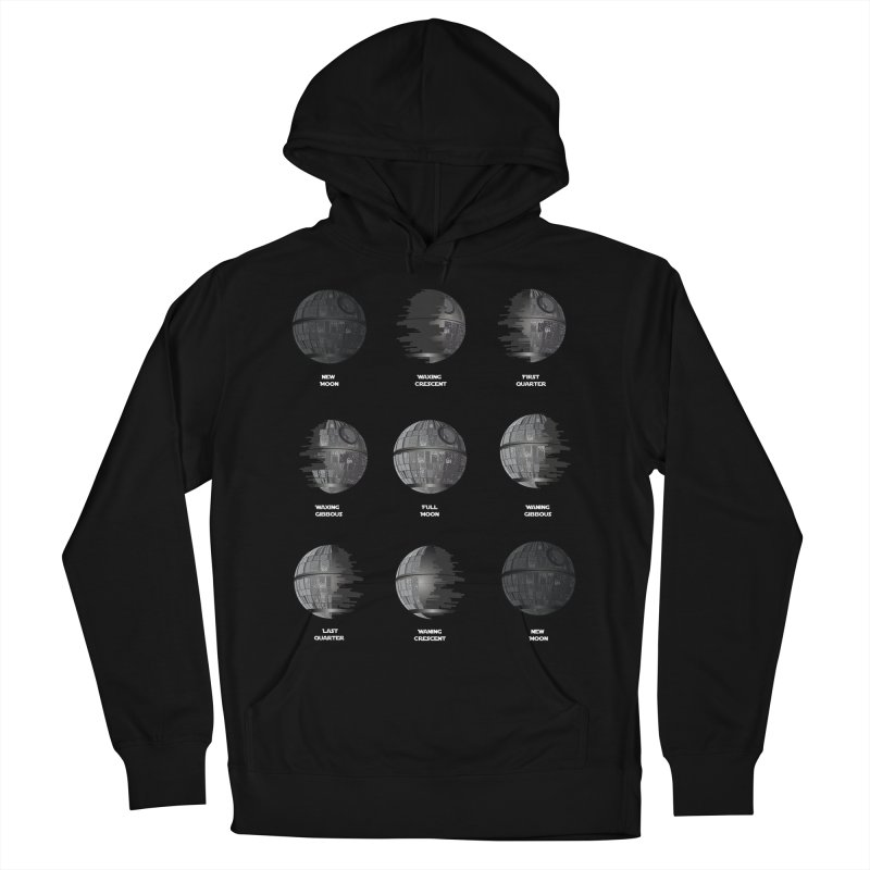 Dark Moon Phase Men's French Terry Pullover Hoody by Tentimeskarma