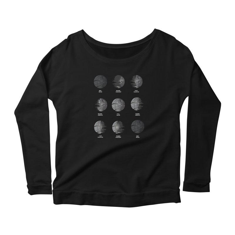 Dark Moon Phase Women's Longsleeve T-Shirt by Tentimeskarma