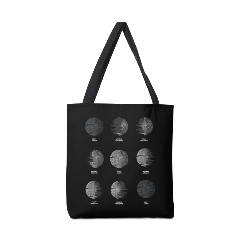 Dark Moon Phase Accessories Bag by Tentimeskarma