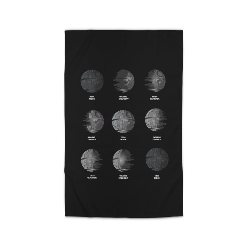Dark Moon Phase Home Rug by Tentimeskarma
