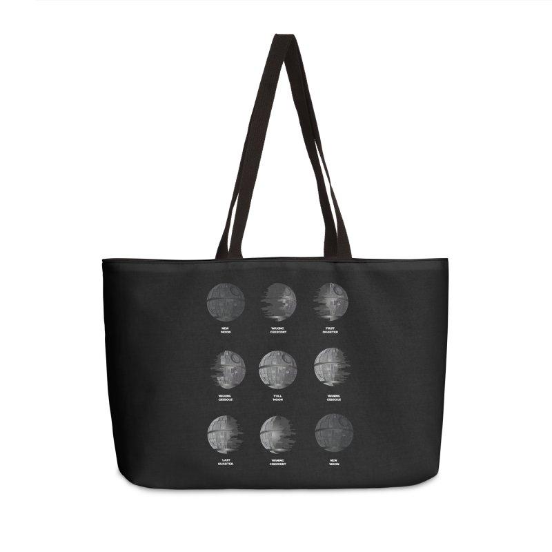 Dark Moon Phase Accessories Weekender Bag Bag by Tentimeskarma