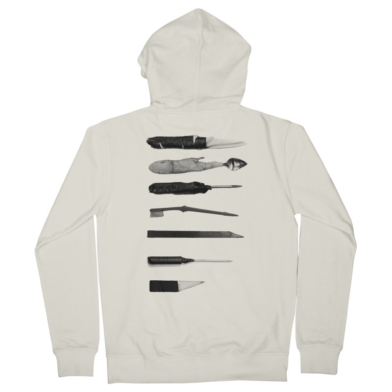 Prison Shanks Men's French Terry Zip-Up Hoody by Tentimeskarma