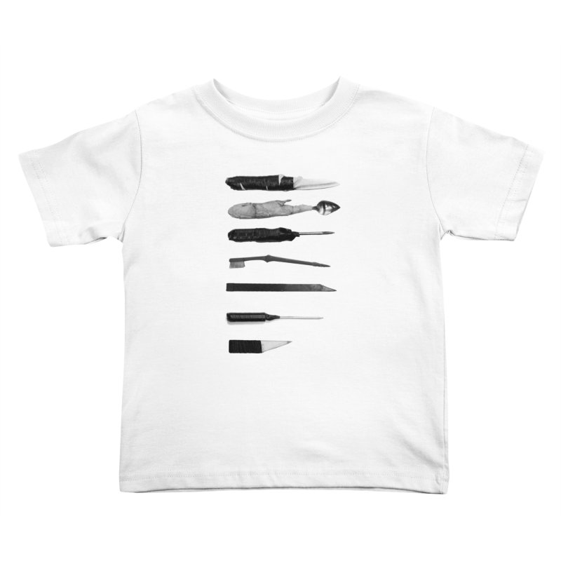 Prison Shanks Kids Toddler T-Shirt by Tentimeskarma