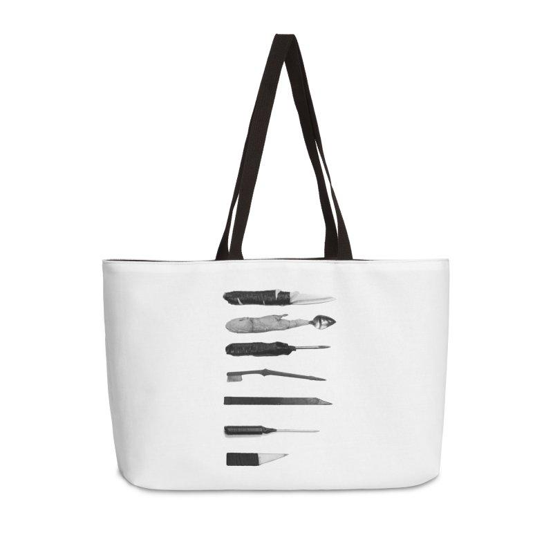 Prison Shanks Accessories Weekender Bag Bag by Tentimeskarma