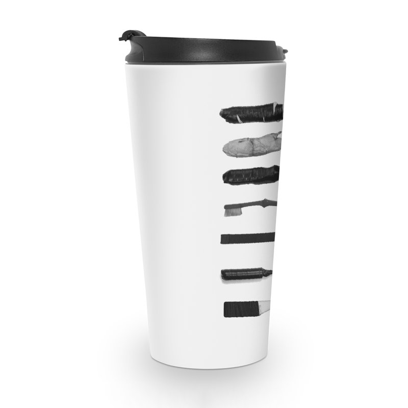 Prison Shanks Accessories Travel Mug by Tentimeskarma