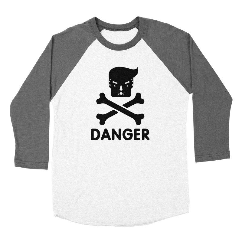 Trump Danger Sign Women's Longsleeve T-Shirt by Tentimeskarma