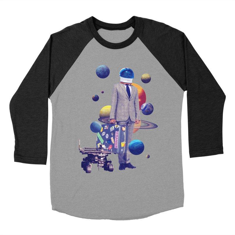 Voyager Men's Baseball Triblend Longsleeve T-Shirt by Tentimeskarma