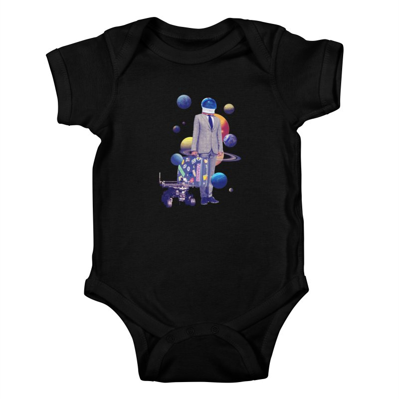 Voyager Kids Baby Bodysuit by Tentimeskarma