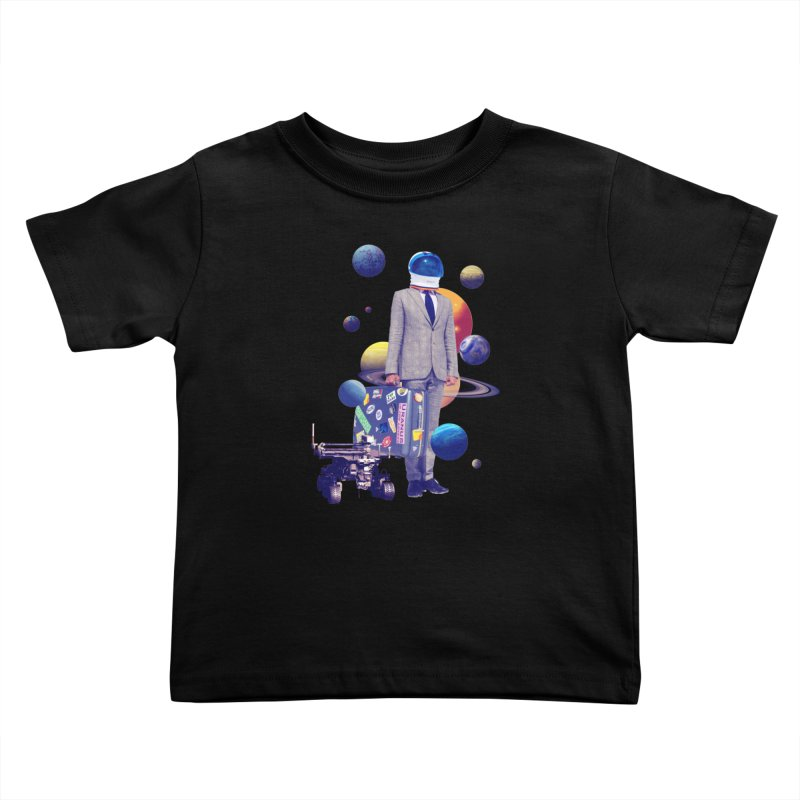 Voyager Kids Toddler T-Shirt by Tentimeskarma