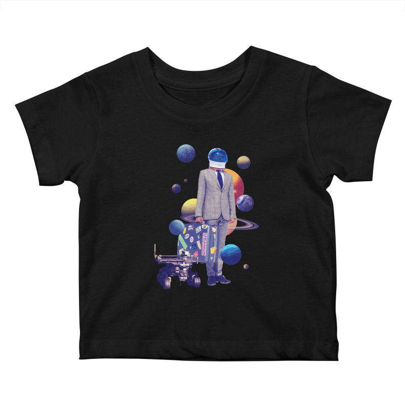Voyager Kids Baby T-Shirt by Tentimeskarma