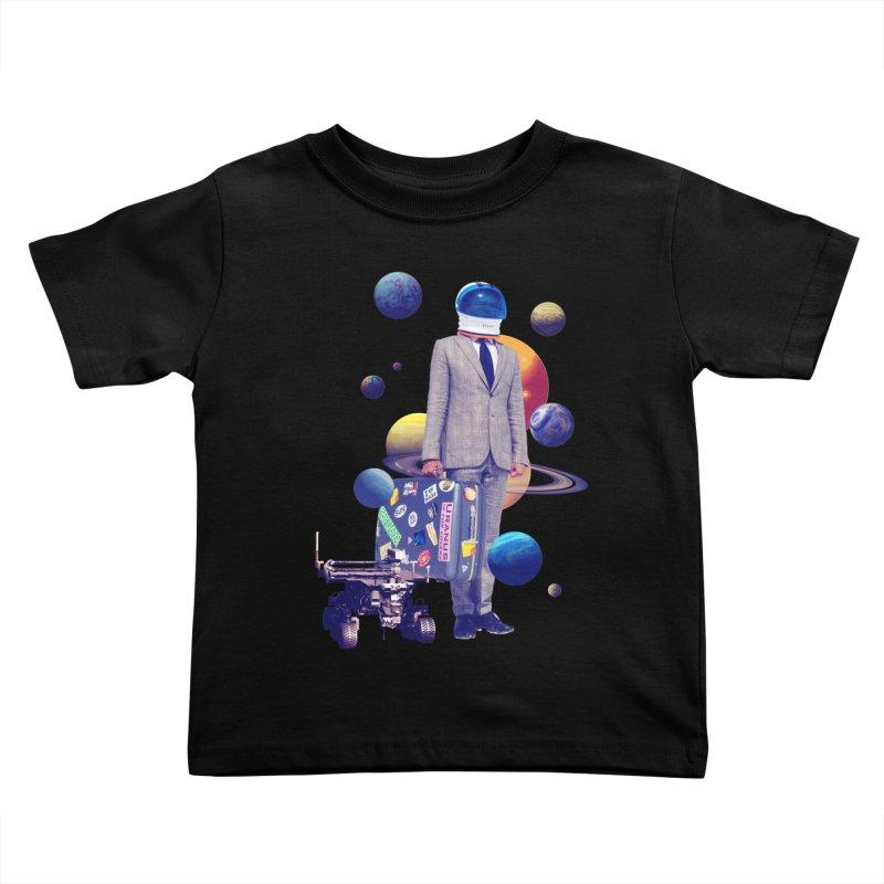 Voyager Kids Toddler T-Shirt by Tentimeskarma