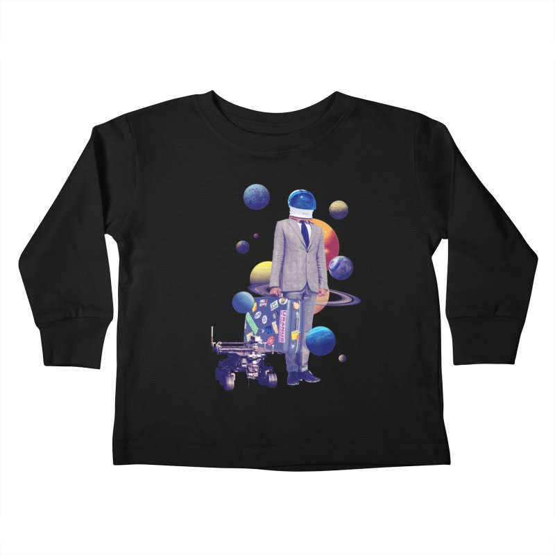 Voyager Kids Toddler Longsleeve T-Shirt by Tentimeskarma