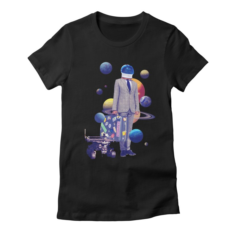 Voyager Women's Fitted T-Shirt by Tentimeskarma