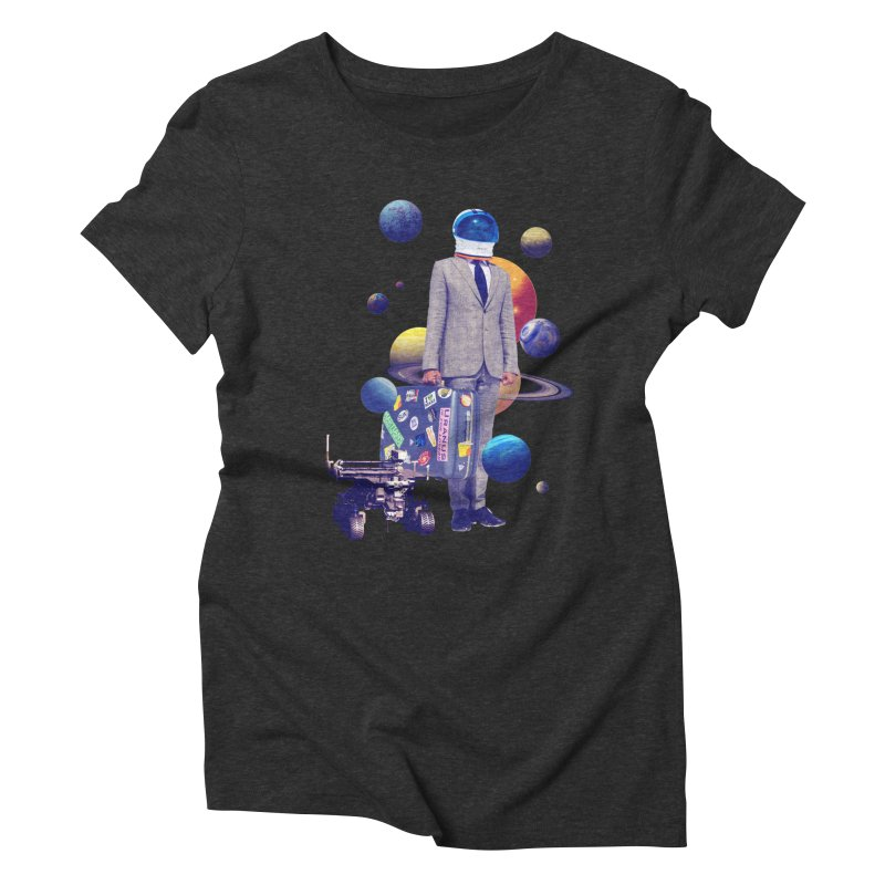 Voyager Women's Triblend T-shirt by Tentimeskarma
