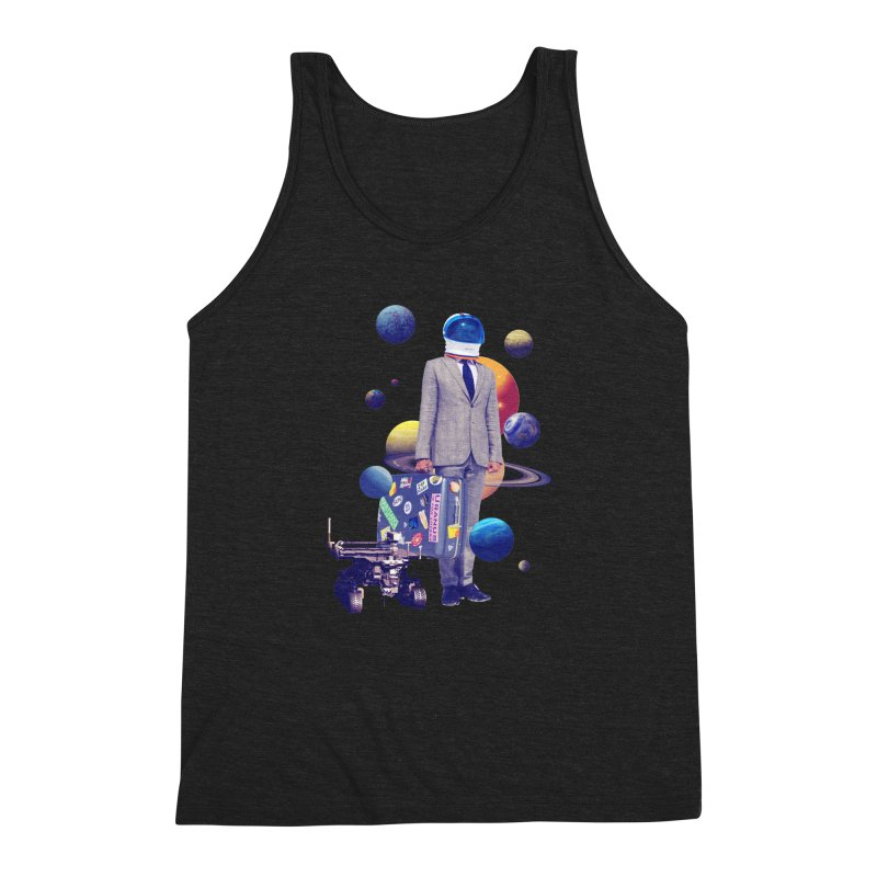Voyager Men's Triblend Tank by Tentimeskarma