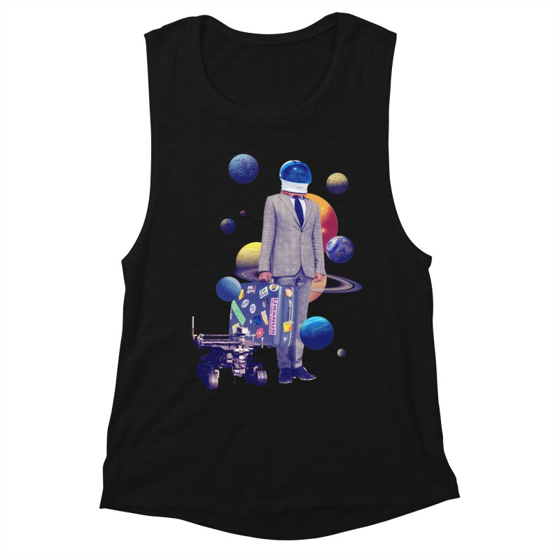 Voyager Women's Muscle Tank by Tentimeskarma